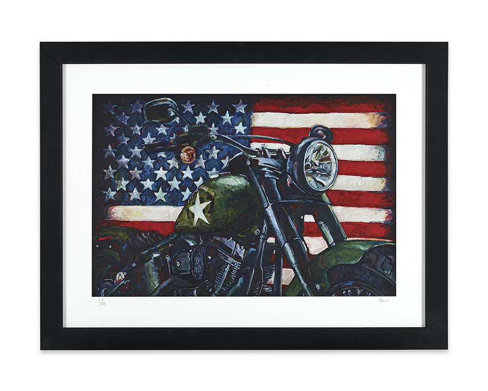 American Muscle framed