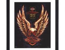 Sturgis 75 framed matte