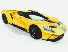 Yellow GT 2016